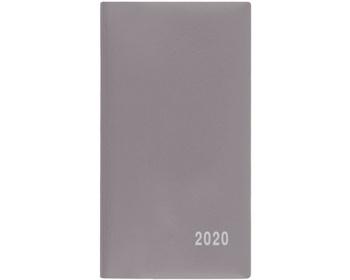 Náhled produktu Měsíční diář Františka PVC 2020, 17x9cm - šedá