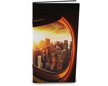 Náhled produktu Měsíční diář Halina 2020, 21x11cm - new york