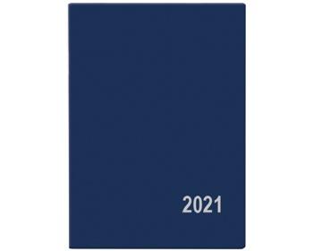 Náhled produktu Kapesní týdenní diář Hynek PVC 2021, 6x8 cm - modrá