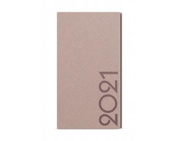 Náhled produktu Kapesní týdenní diář Jakub Tora 2020, A6 - pudrová