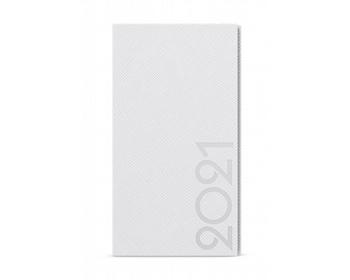 Náhled produktu Kapesní týdenní diář Jakub Tora 2020, A6 - bílá