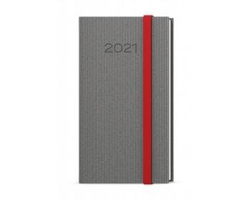 Náhled produktu Kapesní týdenní diář Jakub Vigo 2021 - šedá