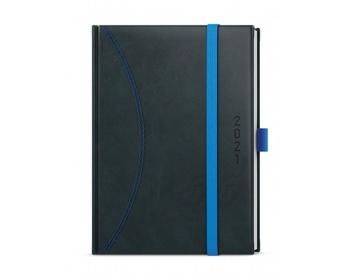Náhled produktu Týdenní diář Oskar Nero 2020, A5 - černá / světle modrá