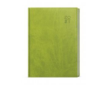 Náhled produktu Týdenní diář Oskar Vivella 2021, A5 - zelená