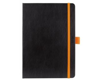 Náhled produktu Denní diář Nero 2020, A5 - černá / oranžová