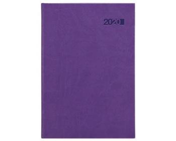 Náhled produktu Týdenní diář Viva 2020, A5 - fialová