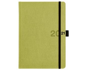 Náhled produktu Týdenní diář Canvas 2021, A5 - zelená
