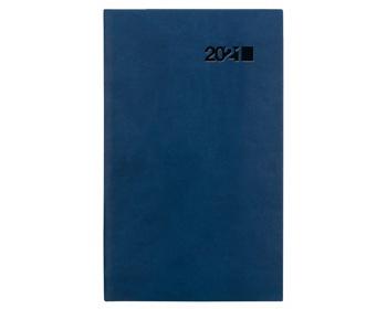 Náhled produktu Kapesní týdenní diář Viva 2021, 9x15 cm - modrá