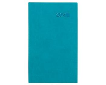 Náhled produktu Kapesní týdenní diář Viva 2021, 9x15 cm - tyrkysová / modrá