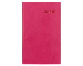 Náhled produktu Kapesní týdenní diář Viva 2021, 9x15 cm - růžová