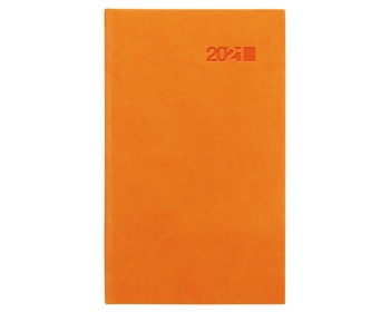 Náhled produktu Kapesní týdenní diář Viva 2021, 9x15 cm - oranžová