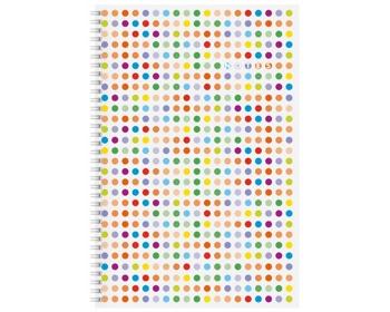 Náhled produktu Poznámkový čtverečkovaný notes Funny, A4 - bílá