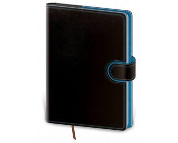 Náhled produktu Denní diář Flip 2020, A5 - černá / modrá