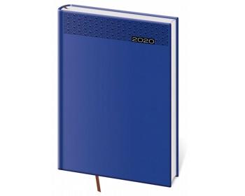 Náhled produktu Denní diář Gommato 2020, A5 - modrá