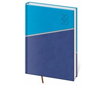 Náhled produktu Denní diář Line 2020, A5 - modrá