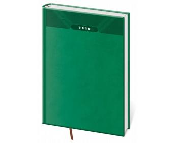 Náhled produktu Denní diář Print 2020, A5 - zelená