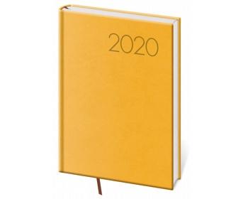 Náhled produktu Denní diář Print 2020, A5 - žlutá