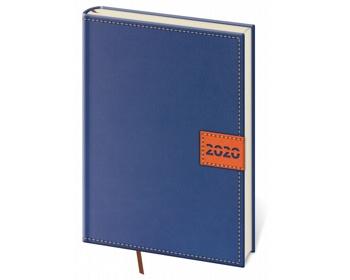 Náhled produktu Denní diář Toledo 2020, A5 - modrá
