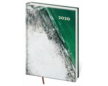 Náhled produktu Denní diář Vario 2020, A5 - green