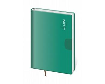 Náhled produktu Denní diář Vario 2021, A5 - zelená