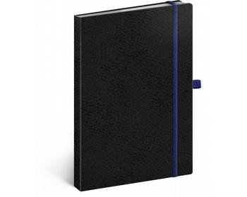 Náhled produktu Poznámkový tečkovaný notes Vivella Classic - černá / modrá