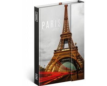 Diář model Paříž
