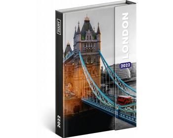 Diář model Londýn