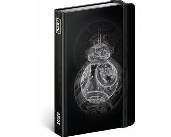 Náhled produktu Týdenní diář Star Wars - BB8 2020, 11x16cm
