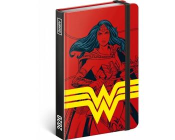 Náhled produktu Týdenní diář Wonder Woman 2020, 11x16cm
