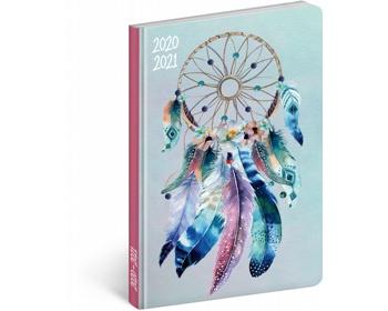 Náhled produktu Měsíční diář Petito - Lapač snů 2021, 11x17 cm