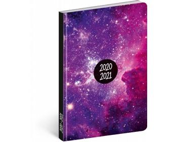 Náhled produktu Měsíční diář Petito - Galaxy 2021, 11x17 cm