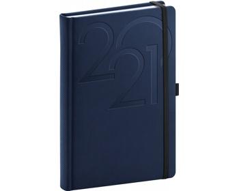 Náhled produktu Denní diář Ajax 2021, A5 - modrá