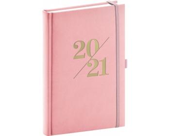 Náhled produktu Denní diář Vivella Fun 2021, A5 - růžová