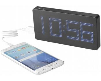 Náhled produktu Netradiční výkonná powerbanka TABIONA EXPRESS s hodinami