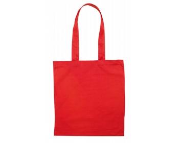 Náhled produktu Bavlněná nákupní taška SHON - červená