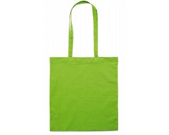 Náhled produktu Bavlněná nákupní taška SHON - limetková