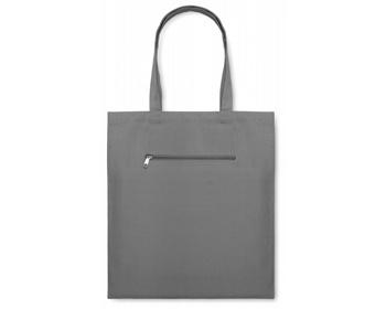 Náhled produktu Plátěná nákupní taška WAGS - šedá