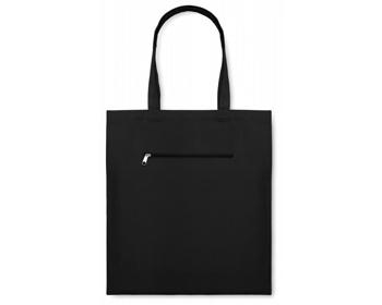 Náhled produktu Plátěná nákupní taška WAGS - černá