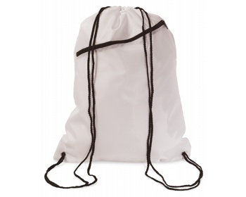 Náhled produktu Velký batoh se šňůrkami LAWN - bílá