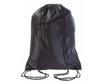 Náhled produktu Velký batoh se šňůrkami LAWN - černá