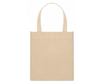 Náhled produktu Netkaná nákupní taška BLOTTED s krátkými uchy - smetanová