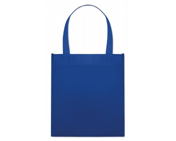 Náhled produktu Netkaná nákupní taška BLOTTED s krátkými uchy - královská modrá