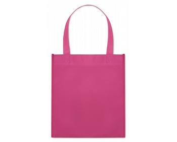 Náhled produktu Netkaná nákupní taška BLOTTED s krátkými uchy - fuchsie