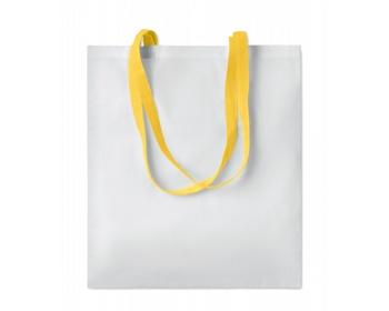 Náhled produktu Nákupní taška LESSONS s dlouhými uchy - žlutá