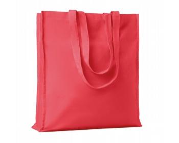 Náhled produktu Bavlněná nákupní taška LEMMA s dlouhými uchy - červená