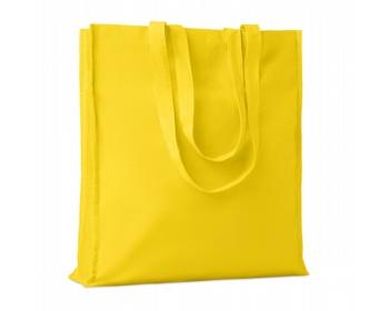 Náhled produktu Bavlněná nákupní taška LEMMA s dlouhými uchy - žlutá