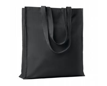 Náhled produktu Bavlněná nákupní taška LEMMA s dlouhými uchy - černá