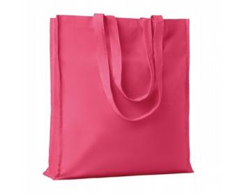 Náhled produktu Bavlněná nákupní taška LEMMA s dlouhými uchy - fuchsie