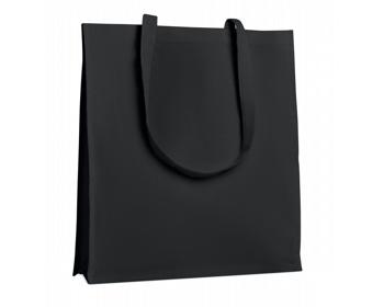Náhled produktu Bavlněná nákupní taška HOES se zpevněným dnem - černá