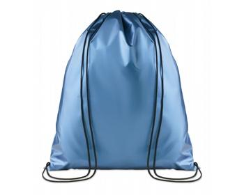 Náhled produktu Polyesterový metalický stahovací batoh ATONES - modrá